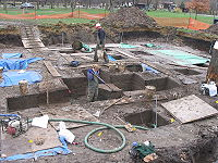 Excavation of the 3,800-year-old Edgewater Park Site