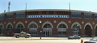 Modern Woodmen Park is home to the Quad Cities baseball team.