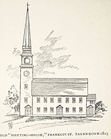 alt=(Old Meeting House)|Old Meeting House - 1696