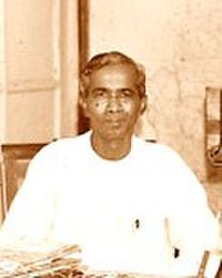 The first Chief Minister of West Bengal, Prafulla Chandra Ghosh, at Writers' in 1947