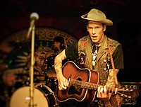 Williams' grandson, Hank Williams III, is also a country musician.