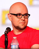 Michael Dante DiMartino, one of the creators of The Legend of Korra, at the 2012 Comic-Con in San Diego.