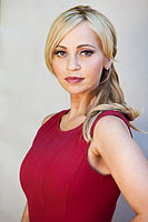 Potrait of Tara Strong in 2012; Strong voices Plum in Bravest Warriors