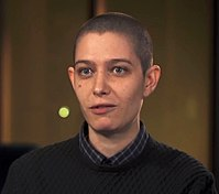 Asia Kate Dillon discusses the non-binary gender character Taylor Mason in Season 2 of Showtime cable TV series Billions; she also voiced Val/entina Romanyszyn in the series gen:LOCK