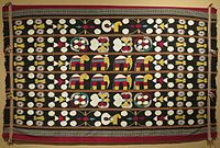 Embroidered textile of Nagaland
