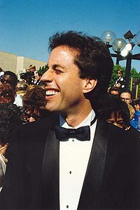 Seinfeld at the 44th Primetime Emmy Awards in 1992