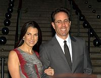 Jessica and Jerry Seinfeld in 2010
