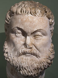 Bust of Emperor Maximian, the first Western Roman Emperor
