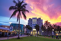 Florida International University, with its main campus in nearby University Park, is the largest university in South Florida and the fourth largest university by enrollment size in the United States. It is also one of Florida's primary research universities.