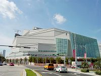 Adrienne Arsht Center for the Performing Arts, the second-largest performing arts center in the United States
