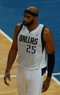 Carter with the Mavericks in October 2012