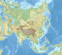 List of highest points of Asian countries