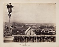 View from the Tennessee State Capitol ca. 1865