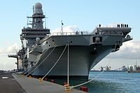 The aircraft carrier MM Cavour