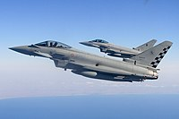 Eurofighter Typhoons operated by the Italian Air Force