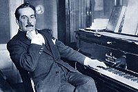 Giacomo Puccini, Italian composer whose operas, including La bohème, Tosca, Madama Butterfly and Turandot, are among the most frequently worldwide performed in the standard repertoire