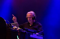 """Giorgio Moroder, pioneer of Italo disco and electronic dance music, is known as the """"Father of Disco"""""""