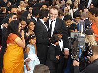The Slumdog Millionaire team at the 81st Academy Awards in the US