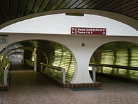 Union Station tunnel as seen in Everybody's Fine (2009)