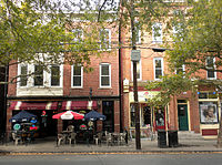 Recent decades have brought increased commercial activity to much of New Haven, including this stretch of upper State Street