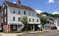 The Quinnipiac River Historic District, located in the Fair Haven neighborhood, is one of dozens of listed historic districts in New Haven.