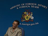 Foreign relations of Barbados