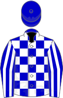 Racing colors of Meadow Stable