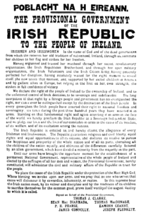 The Easter Proclamation, 1916