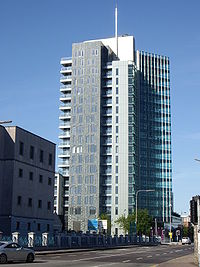 The Elysian tower in Cork is the second tallest storeyed building in the Republic of Ireland.