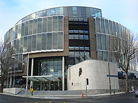 The Criminal Courts of Justice is the principal building for criminal courts.