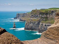 The Cliffs of Moher on the Atlantic coast