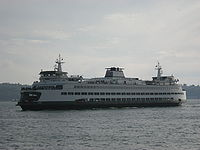 Washington has the largest ferry system in the United States.