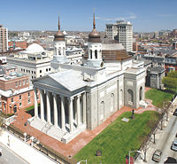 The Baltimore Basilica was the first Catholic cathedral built in the U.S.