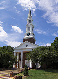Memorial Chapel at the University of Maryland, College Park, Maryland's flagship university