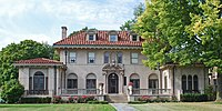 """""""Motown Mansion"""" in Boston-Edison Historic District; former home of Berry Gordy, founder of Motown Records"""