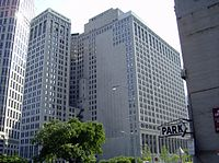 The First National Building, a class-A office center within the Detroit Financial District.