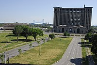 The Michigan Central Station in 2012