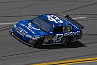 Sorenson's No. 43 during the 2009 Aaron's 499