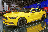 Ford Mustang Fastback at the 2014 Mondial de l'Automobile