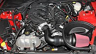 Mustang's 3.7L V6 with a Roush Performance Cold Air Intake