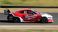The Mustang is currently being used by Ford teams in the Supercars Championship.