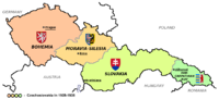 The First Czechoslovak Republic comprised 27% of the population of the former Austria-Hungary and nearly 80% of the industry.