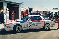 Toyota Supra MA70 Group-A in 1991 at Bathurst
