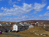 Expansion in Kiryas Joel, driven by the rapidly growing Orthodox Jewish population.