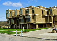 The Orange County Government Center in Goshen, N.Y., designed by Paul Rudolph.
