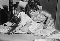 Burstyn and Blair in The Exorcist (1973).
