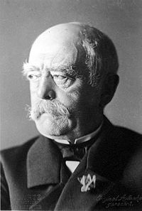 Chancellor Bismarck, the visionary statesman who unified Germany with his skillful political moves