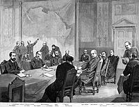 Bismarck at the Berlin Conference, 1884