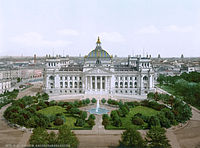 The Reichstag in the 1890s / early 1900s