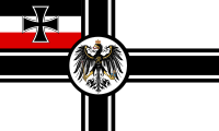 War flag of the German Empire. In 1956, the Iron Cross was re-introduced as the symbol of the Bundeswehr, the modern German armed forces.